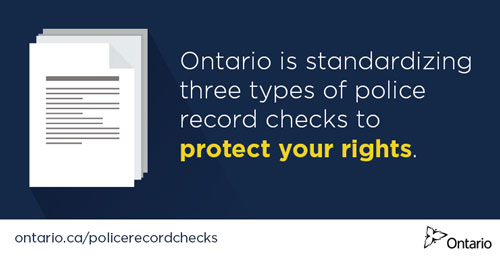 Background Checks by Saugeen Shores Police